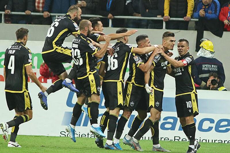 Liga rumuńska - 8. kolejka Ligi I: CS Gaz Metan Mediaş ...  |Gaz Metan-botoşani